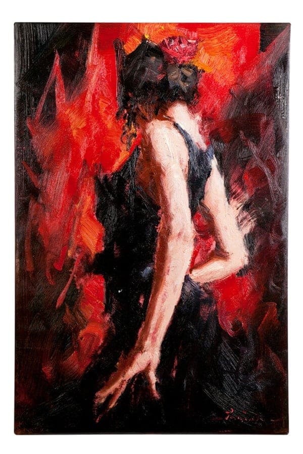 IN STOCK - $350 - Hot Dancing Lady - 60x90cm
