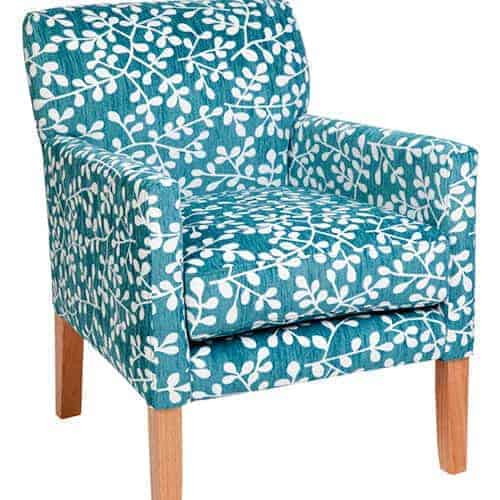 Brook Occasional Chair – Warwick Sofia Leaf Atoll