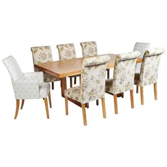 Dinning chair – Australian made - Designer Chair - Accent chair - Boutique Chair - Occasional Chair -Warwick Fabric Australian made dining table – Tasmanian Oak Dining Table – Rectangular Dining Table