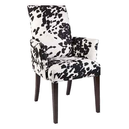 Chole Dinning chair – Australian made - Designer Chair - Accent chair - Boutique Chair - Occasional Chair -Warwick Fabric