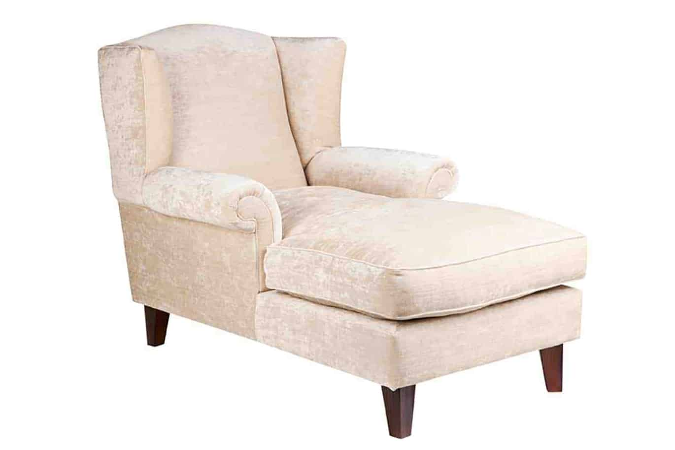 flora_wing_chaise-_lounge_01 Australian Made Designer Accent Boutique Occasional Chair Warwick Fabric