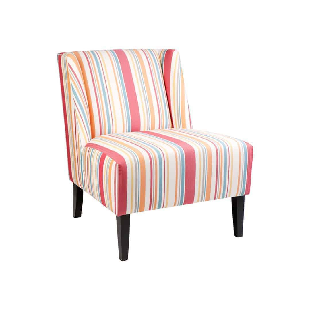 Designer Chair - Accent chair - Boutique Chair - Occasional Chair -Warwick Fabric