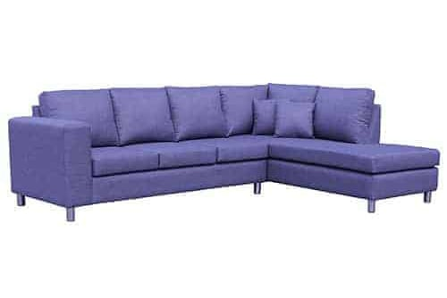 kingsrove navy Australian made 3 seater with terminal usable chaise lounge sofa corner modular