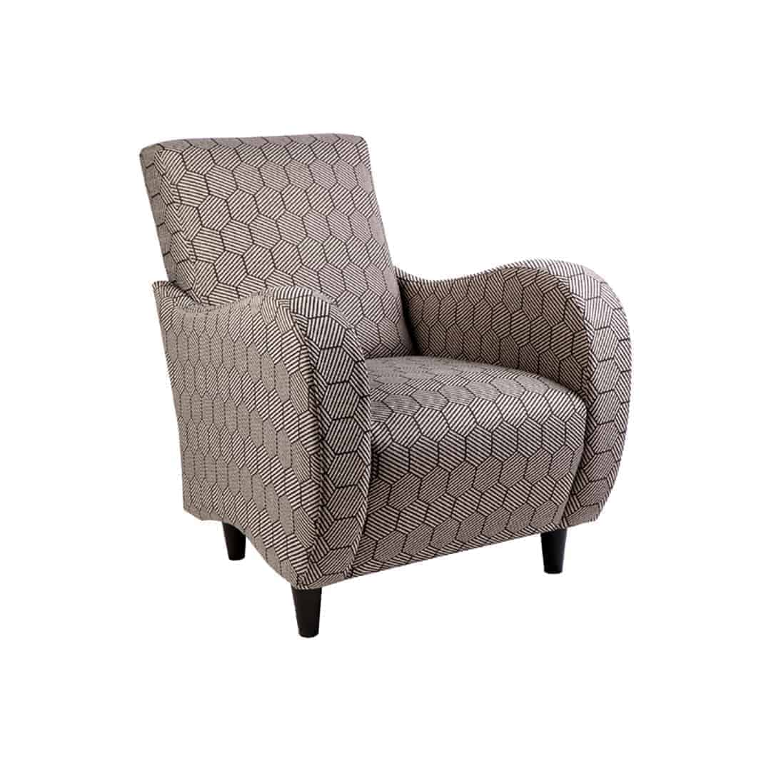 lily_armchair_01 Australian Made Designer Accent Boutique Occasional Chair Warwick Fabric
