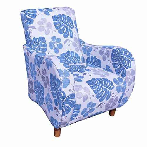 Retro chair - Designer Chair - Accent chair - Boutique Chair - Occasional Chair -Warwick Fabric
