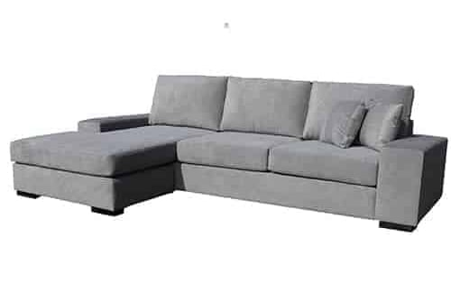 london Australian made 3.5 seater with reversible chaise lounge sofa corner modular