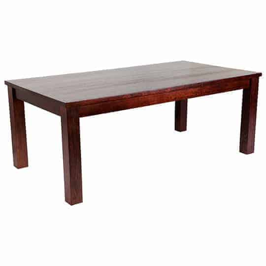 Australian made dining table – Tasmanian Oak Dining Table – Rectangular Dining Table
