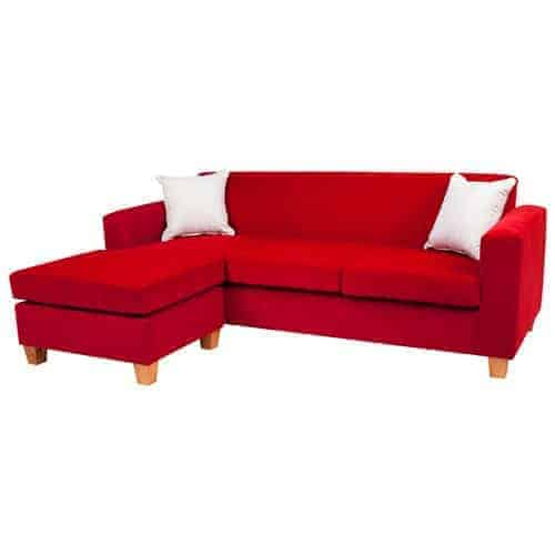 mossvale Australian made 3 seater with reversible chaise lounge sofa corner modular