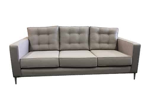 3.5 seater - sofa lounge suite set - buttoning - studs
