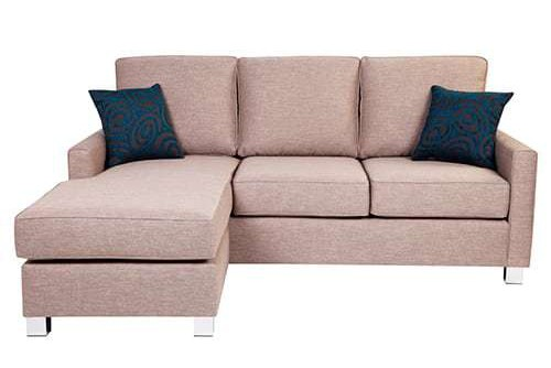 preston Australian made 3 seater with reversible chaise lounge sofa corner modular