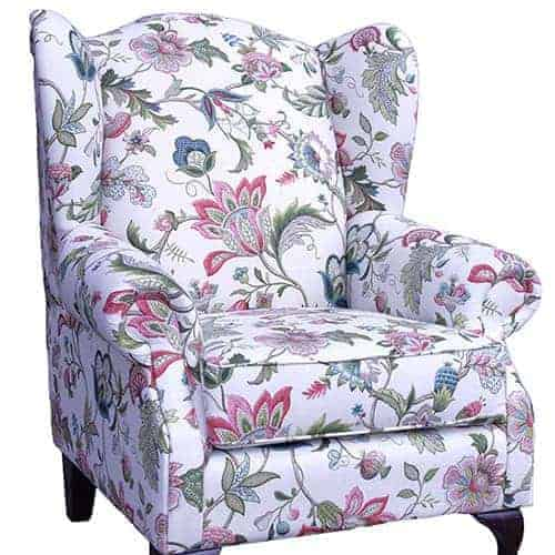 queens_wing_chair_willow_01 Australian Made Designer Accent Boutique Occasional Chair Warwick Fabric