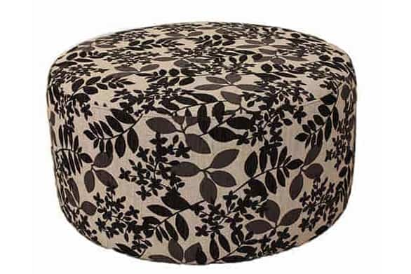 Storage ottoman - round ottoman - warwick fabric – square - rectangle ottoman – footstool - chaise ottoman