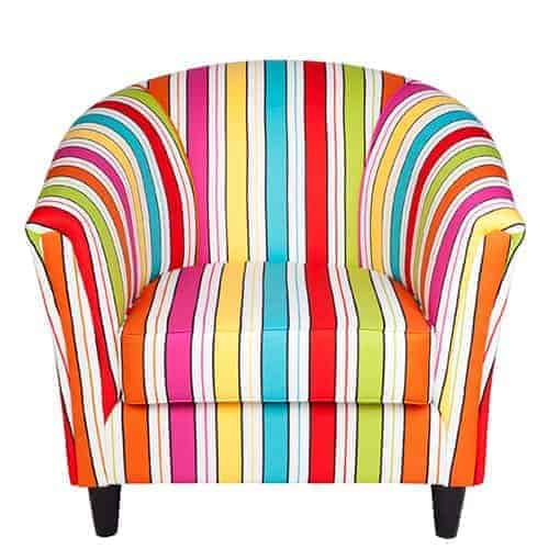 ruth_tub_chair_howell Australian Made Designer Accent Boutique Occasional Chair Warwick Fabric