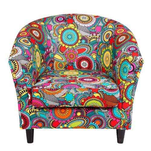 Tub chair - Designer Chair - Accent chair - Boutique Chair - Occasional Chair -Warwick Fabric