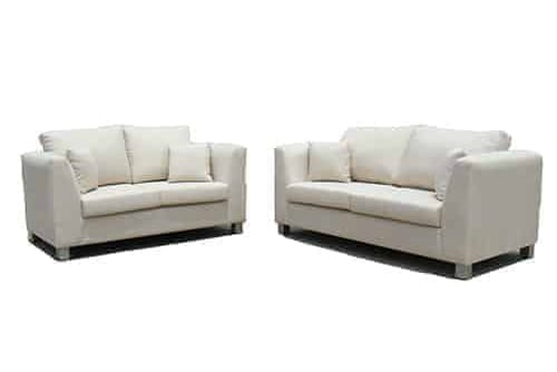 buttoning -sofa lounge suite set - 2.5 seater - australian made