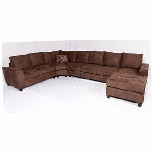 Australian made corner modular lounge sofa chaise suite