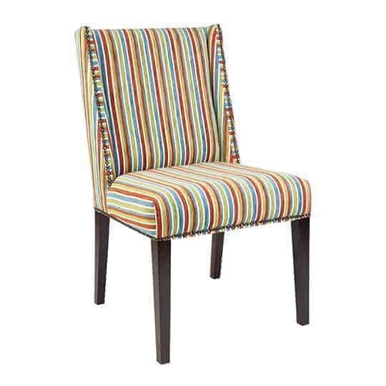 Dinning chair – Australian made - Designer Chair - Accent chair - Boutique Chair - Occasional Chair -Warwick Fabric