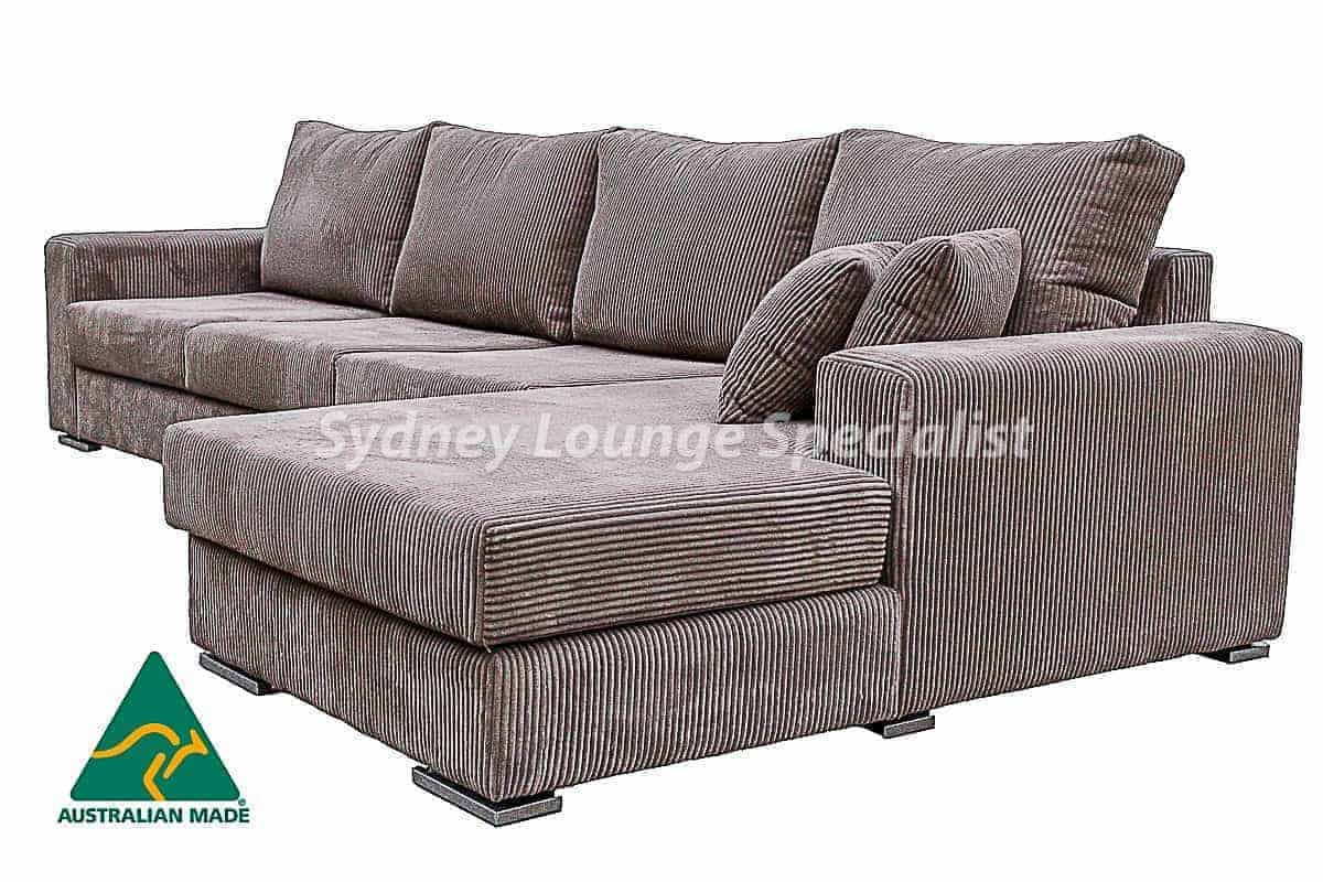 cosmo Cream Australian made 8 seater corner modular lounge sofa chaise suite