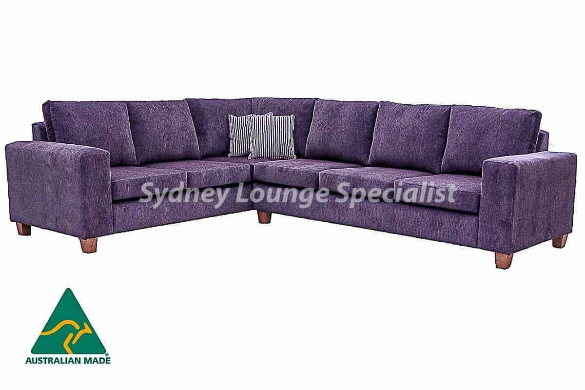 Canberra corner modular lounge sofa chaise suite Australian made