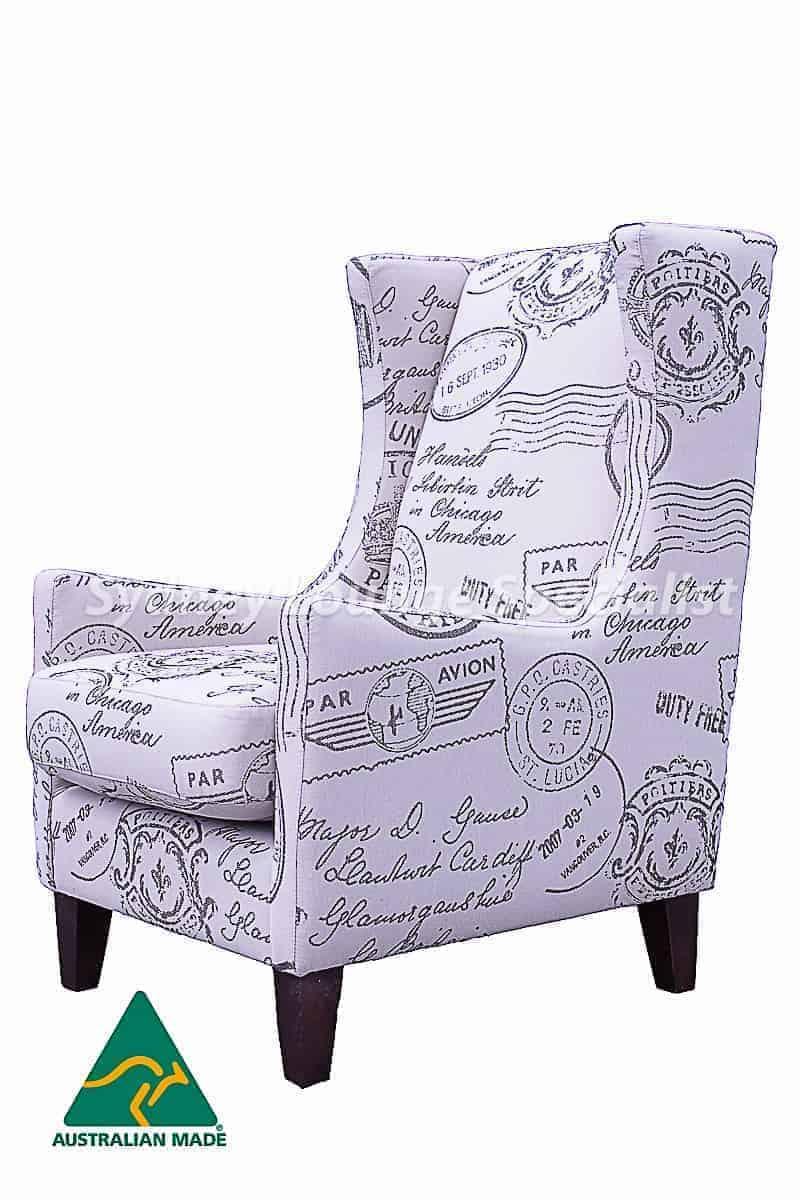 Vogue Chair (Par Avion Natural) Pic 1