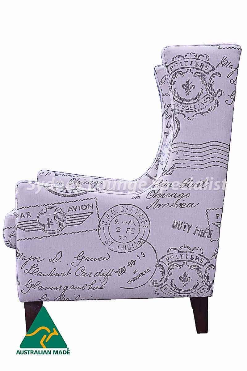 Vogue Chair (Par Avion Natural) Pic 3