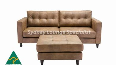 Parker 3 Seater (buttoned) +ottoman Australian Made Sofa lounge