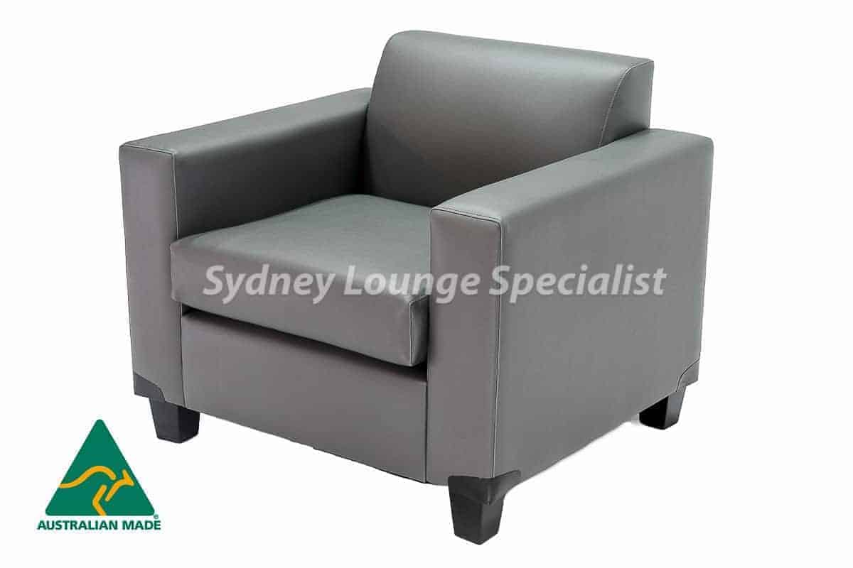 Mossvale commercial chair Australian Made Designer Accent Boutique Occasional Chair Warwick Fabric