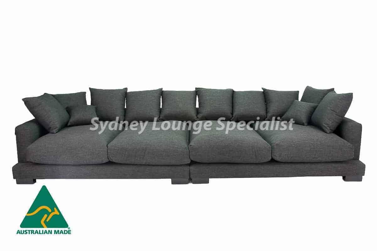 Adrian Ultra Deep 6 Seaters Split (Fibre Seat Cushion) Australian made
