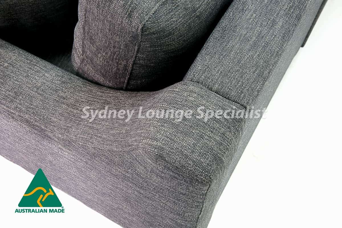 Lilyfield 2.5 seater + Chaise RHF Australian made