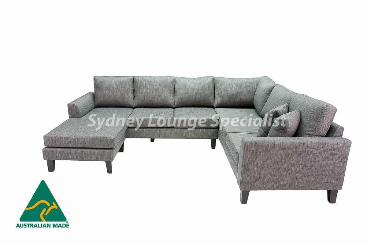 Sydney chaise lounge sofa corner modular suite Australian Made 02