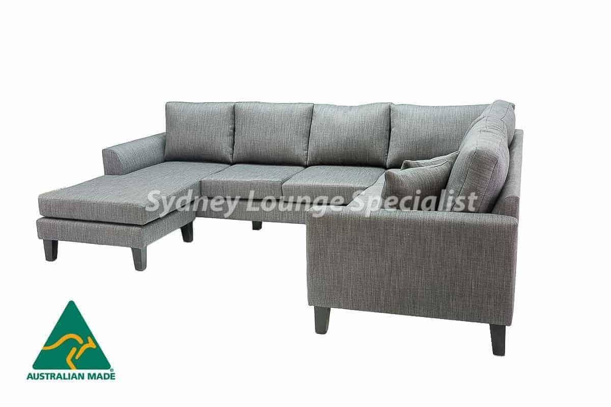Sydney chaise lounge sofa corner modular suite Australian Made 04