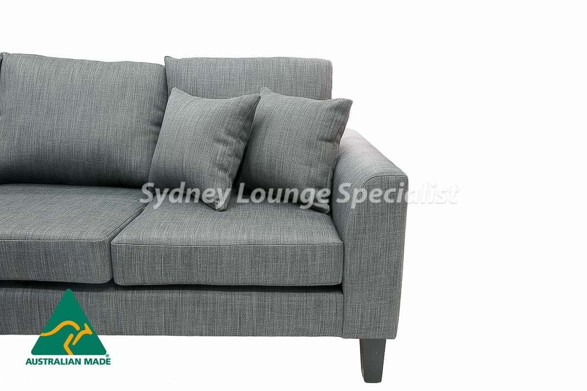 Sydney chaise lounge sofa corner modular suite Australian Made 05
