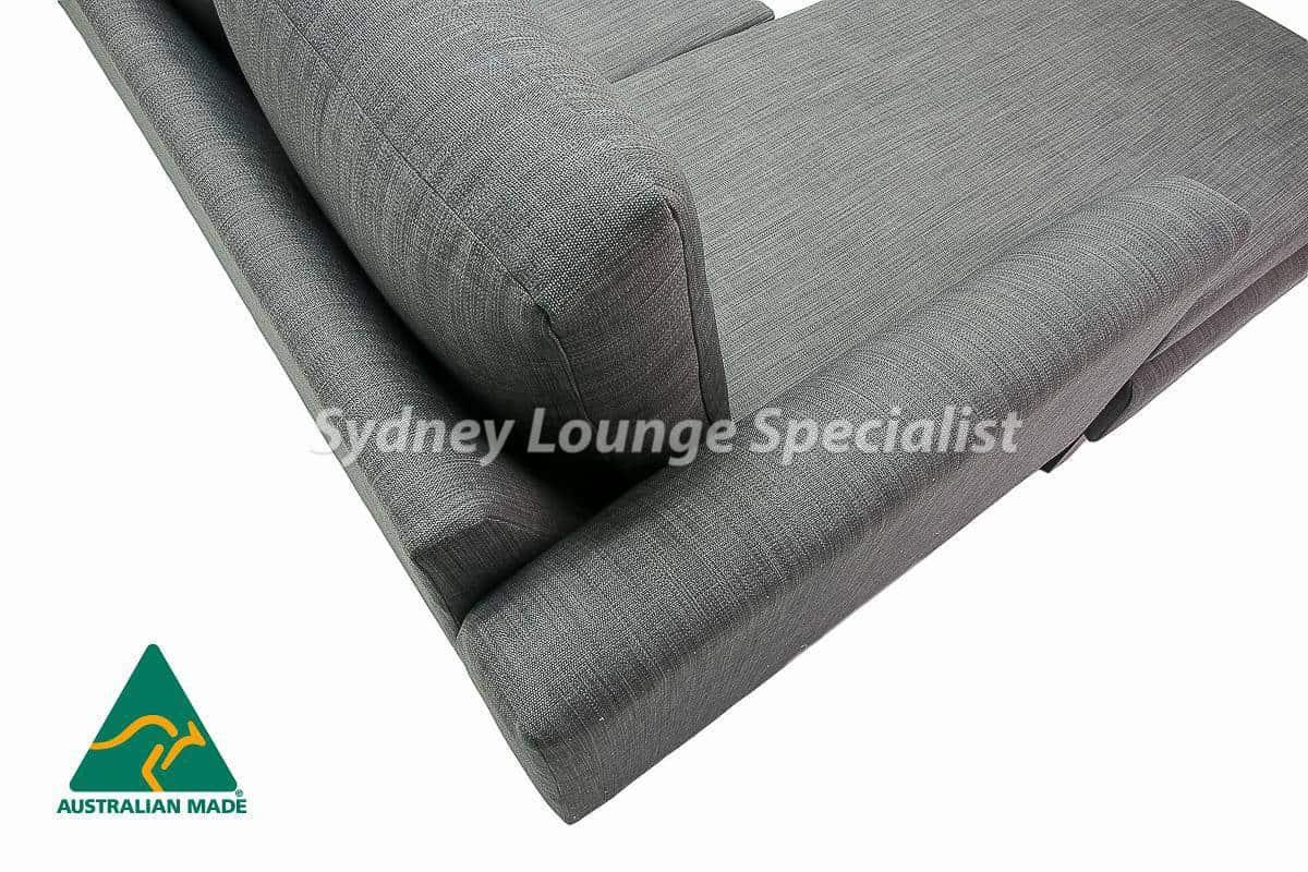 Sydney chaise lounge sofa corner modular suite Australian Made 06