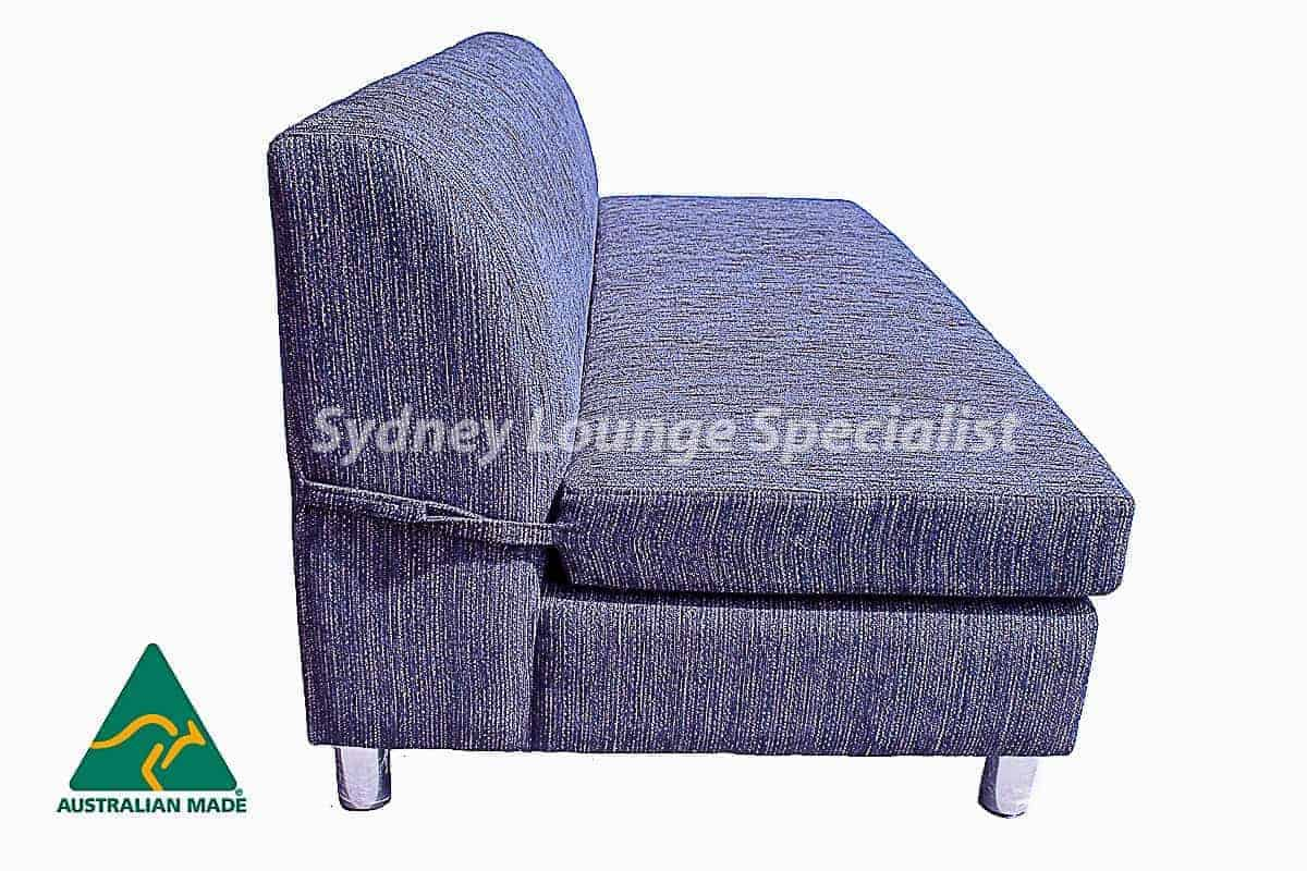 Chicago 2.5 Seater Double Sofa Bed Australian made Warwick Fabrics