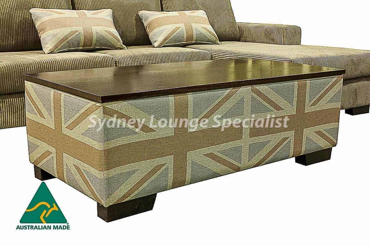 Quattro Corner Modular Chaise Lounge + Ottoman Australian Made