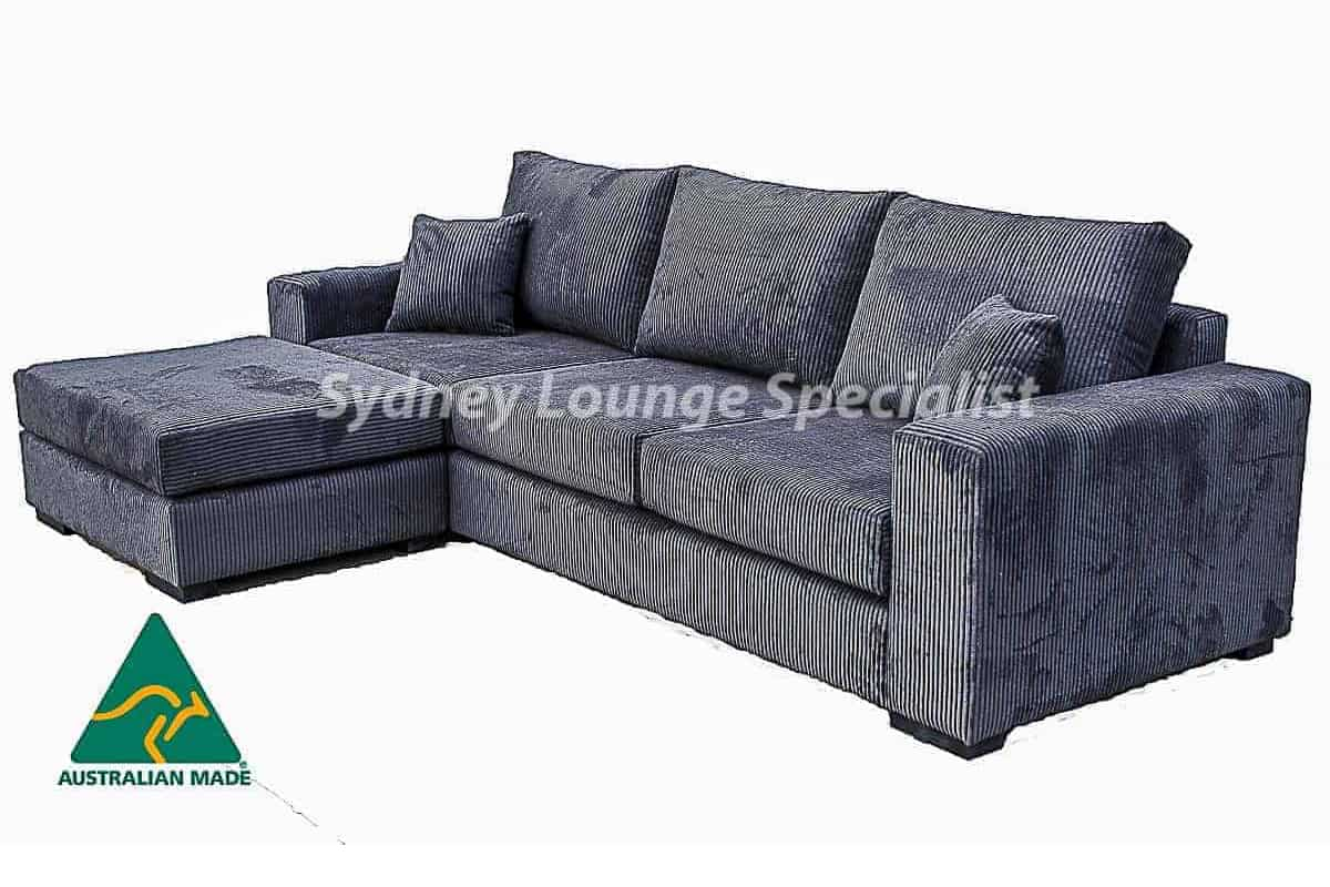 Viola 3.5 Seater + Ottoman Australian made sofa lounge warwrik fabric