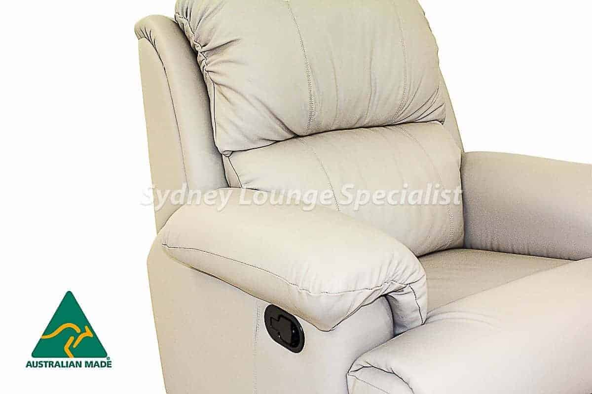 Hilton 3 Seater + 2 X Recliner Chair Australian made