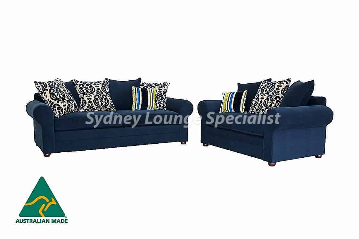 Ashmore 3 Seater + 2 Seater (Loose scattered back cushions) Australian made