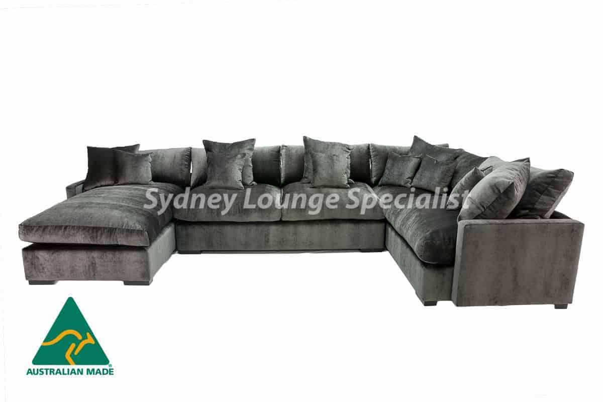 Comfy 3 Pieces Corner Modular Chaise Lounge Suite