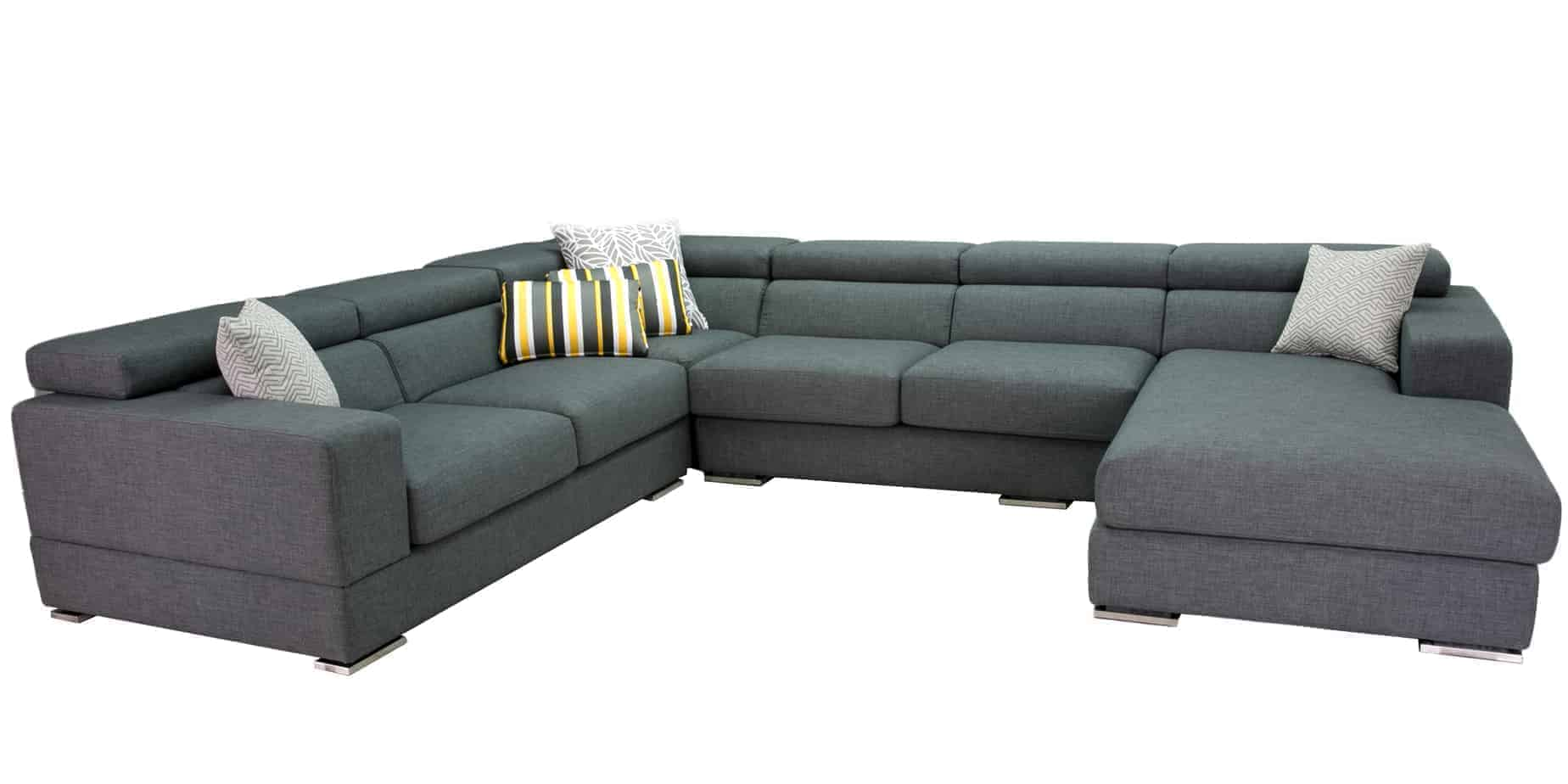 Tennyson Plush Chaise Corner Modular Lounge buy direct from our Sydney Furniture Factory