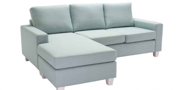 3 Seater Plush Chaise Lounge available at Sydney Lounge Specialist