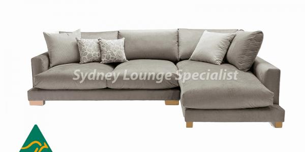 Adrian 3 Seater Chaise Lounge, sectional corner modular chaise lounge sofa