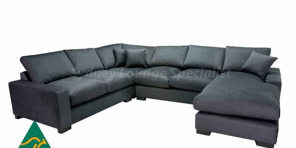 Leather modular Lounge, buy direct from our Sydney Furniture Factory