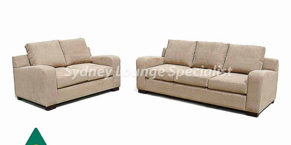 3 seater sofa lounge suite set - buttoning – studs