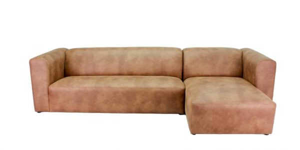 Leather modular lounge Australian Made available at Sydney Lounge Specialist