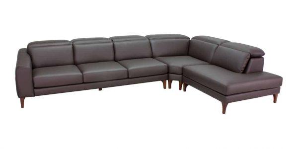 Chaise Corner Plush Modular Sofa Lounge Australian Made available at Sydney Lounge Specialist