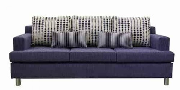 Casper 3 seater chaise lounge_2.5 seater sofa lounge suite set - buttoning – studs