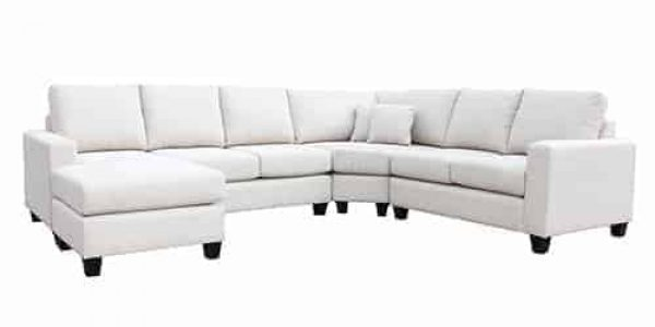 sectional 7 seater corner modular lounge sofa chaise suite