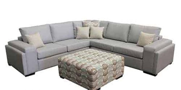 sectional corner modular sofa lounge double layer arm include ottoman