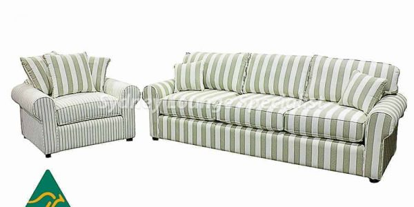 Ash 3.5 Seater + 1.5 Seater Lounge Suites fabric chaise lounge - sofa corner modular
